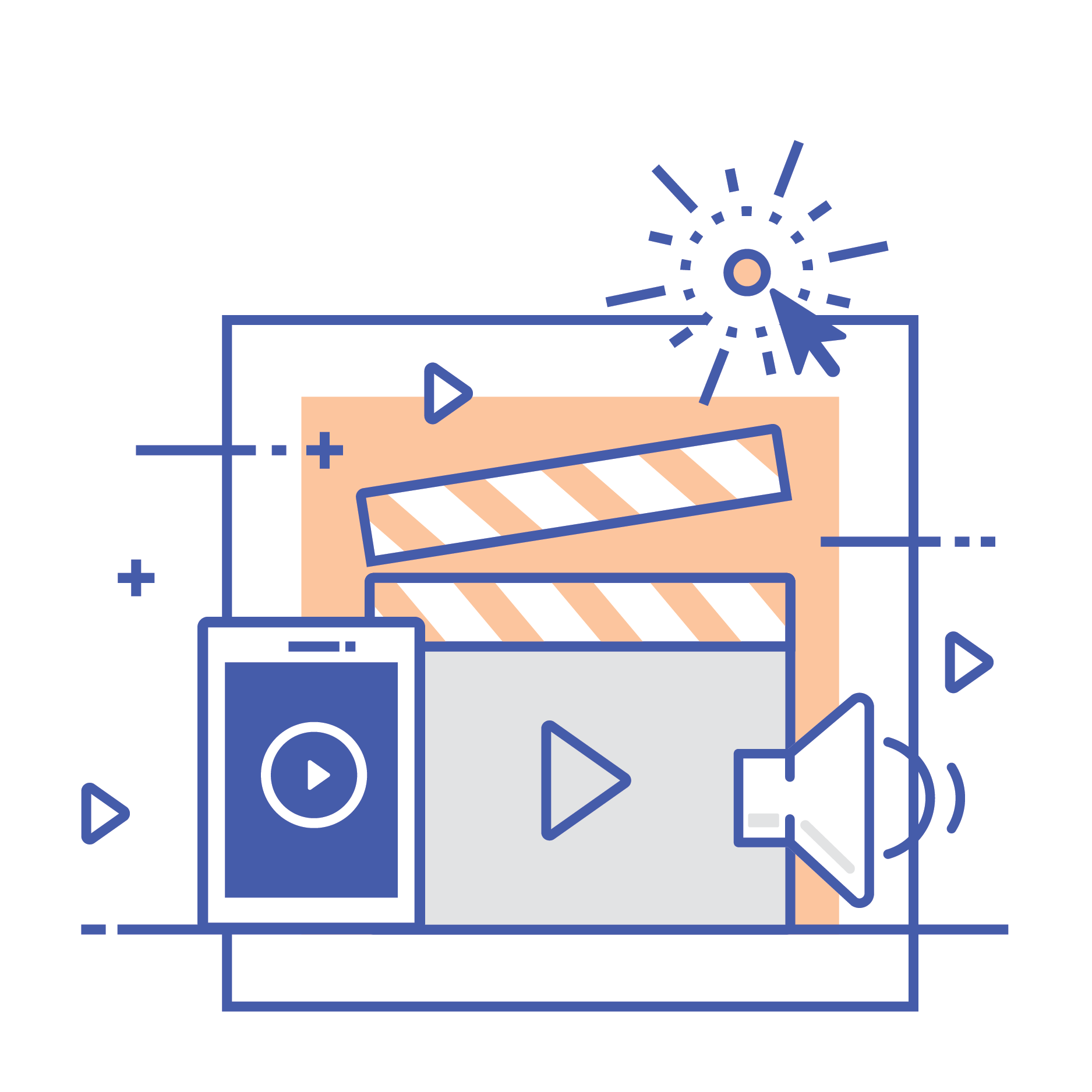 vector with video